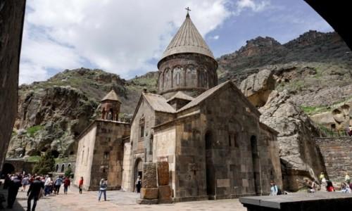 Zdjecie ARMENIA / Kotajk / Geghard / Monaster Geghard