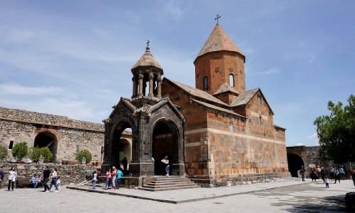 Zdjęcie ARMENIA / Ararat / Pokr Vedi / Klasztor Chor Wirap