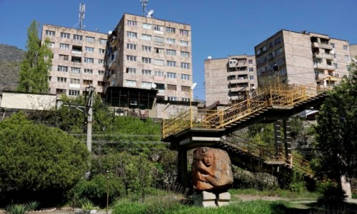ARMENIA / Lori / Alawerdi / Osiedle mieszkaniowe w Alawerdi