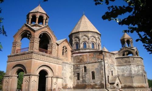 Zdjecie ARMENIA / Echmiadzin / Echmiadzin /  Klasztor Echmiadzin