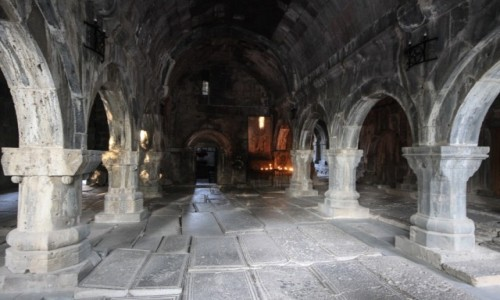 Zdjecie ARMENIA / płn-wsch Armenia / monastyr Haghpat / Haghpat