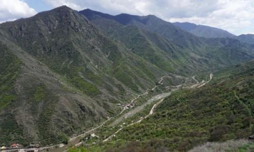 ARMENIA / - / Sanahin / Kanion rzeki Debed