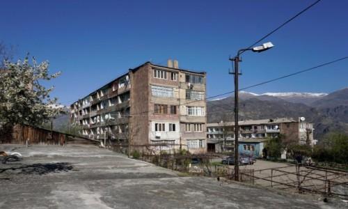 Zdjęcie ARMENIA / - / Alawerdi / Bloki w Alawerdi