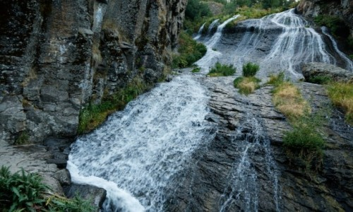 Zdjecie ARMENIA / płd. Armenia / Jermuk / Wodospady Jermuk