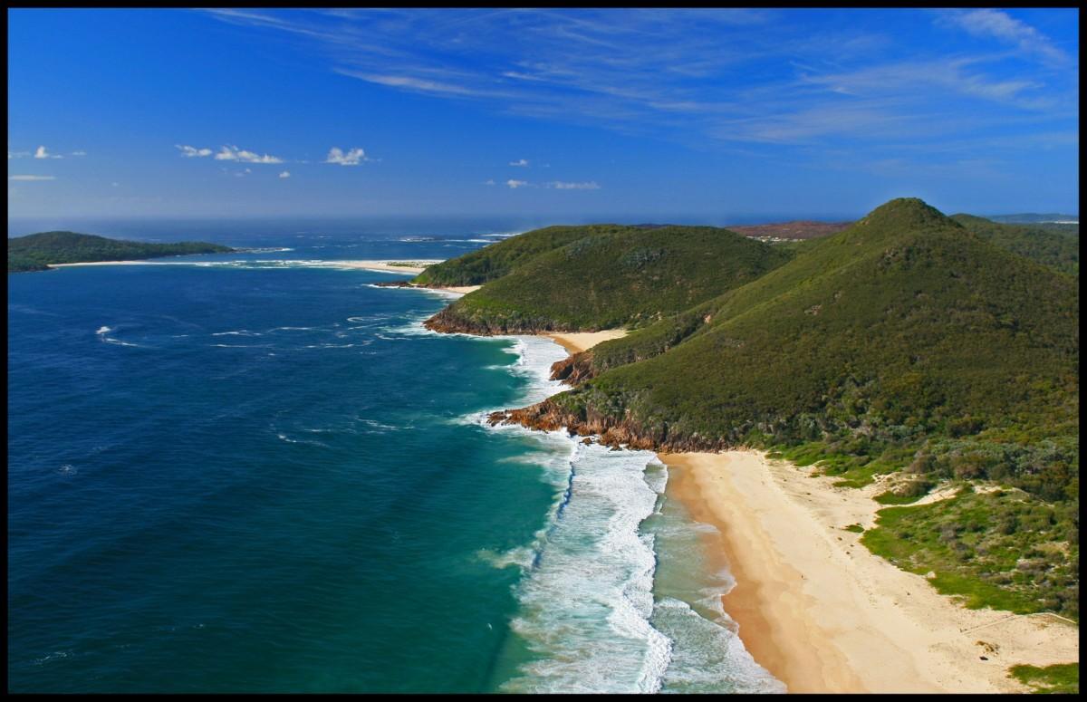 Zdjęcia: Zenith Beach, NSW, Shoal Bay, AUSTRALIA