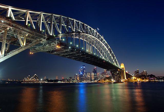 Zdjęcia: Sydney, NSW, konkurs - widok spod mostu, AUSTRALIA