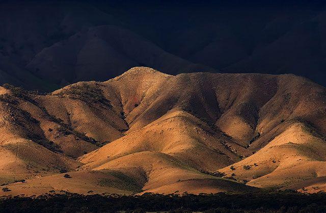 Zdj�cia: Gory Flindersa, Poludniowa Australia, u schylku dnia, AUSTRALIA