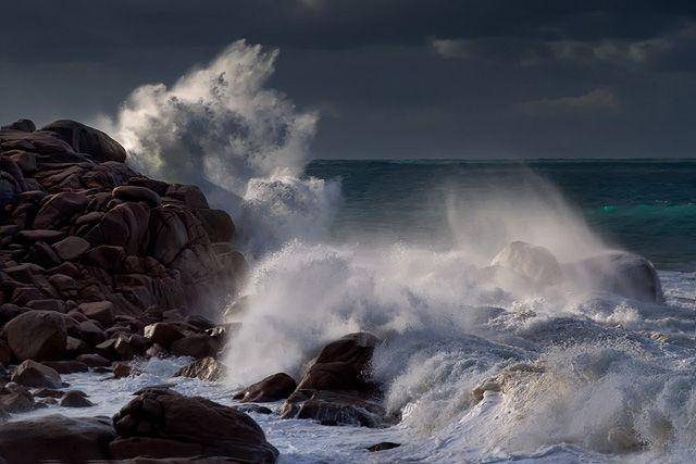 Zdjęcia: Port Elliot, -South Australia, po sztormie, AUSTRALIA