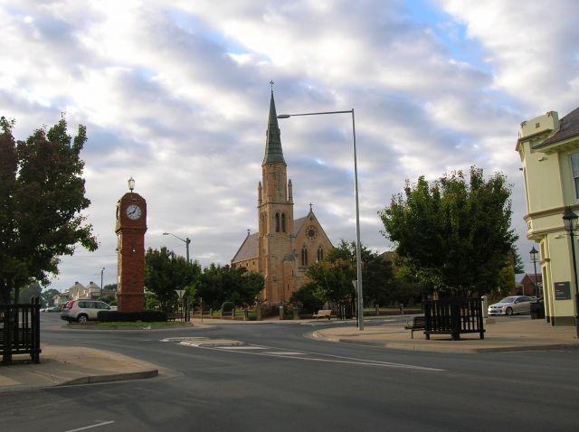Zdjęcia: Mudgee, Central Nsw, Zegar w Mudgee.., AUSTRALIA
