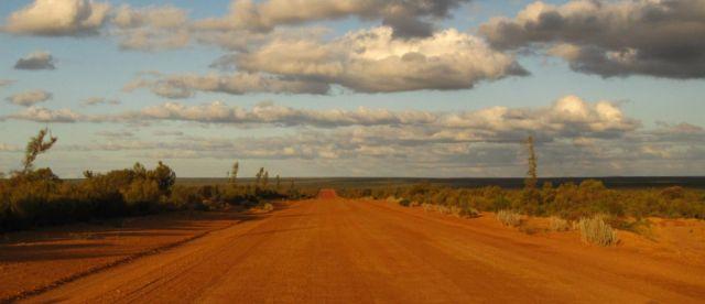 Zdjęcia: droga, Hyden, Droga do Hyden, AUSTRALIA