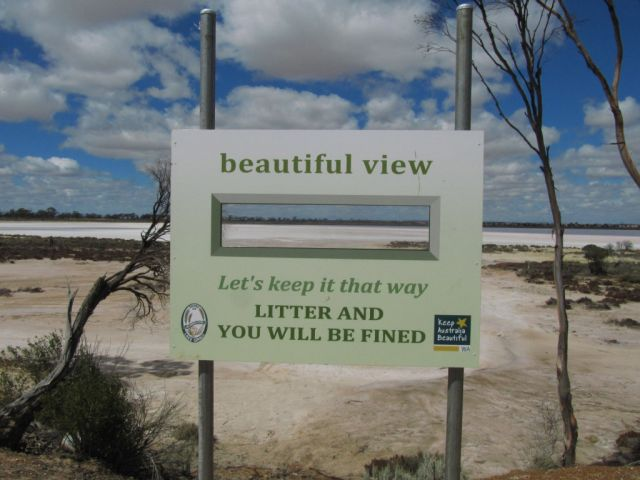 Zdjęcia: jezioro, Pn od Albany, Lake Grace, AUSTRALIA