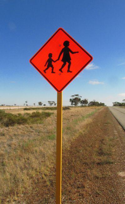 Zdjęcia: szosa, Bunbury, uwaga teraz dzieci, AUSTRALIA