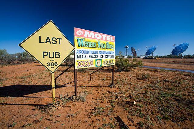 Zdjęcia: Windorrah, Queensland, koszmar piwosza, AUSTRALIA