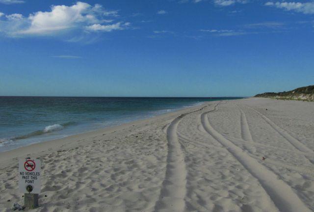 Zdjęcia: plaża, Busselton, zakazana droga, AUSTRALIA