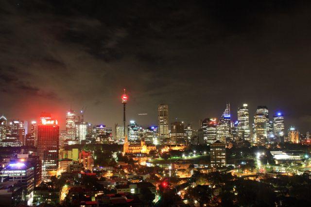 Zdjęcia: Sydney, Nowa Południowa Walia, Sydney by night, AUSTRALIA