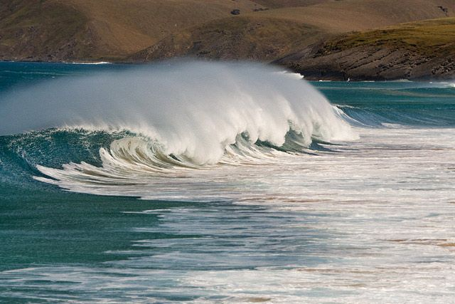 Zdjęcia: Pearsons Beach, Florieu Peninsula, fala, AUSTRALIA