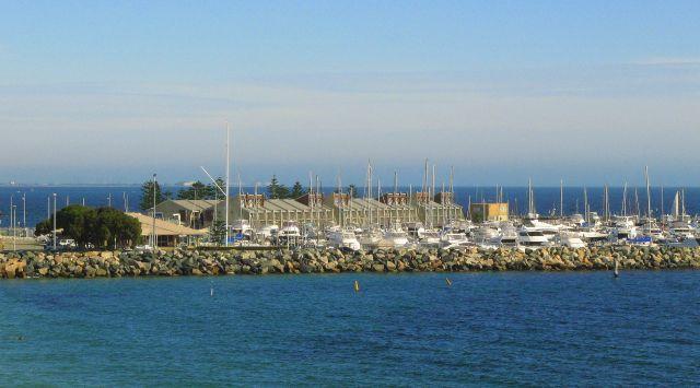 Zdjęcia: nadbrzeże, Fremantle, Marina, AUSTRALIA