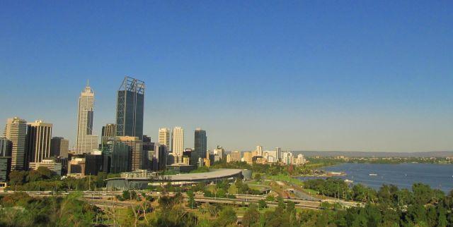 Zdjęcia: Perth, WA, widok na miasto, AUSTRALIA