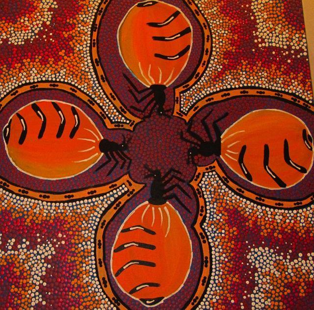 Zdjęcia: muzeum, Kalgoorlie, sztuka aborygeńska 4, AUSTRALIA