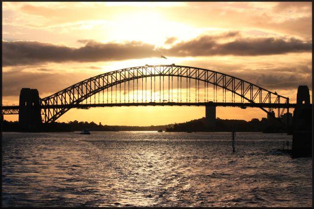 Zdjęcia: Sydney, Nowa Południowa Walia, zachód słońca, AUSTRALIA