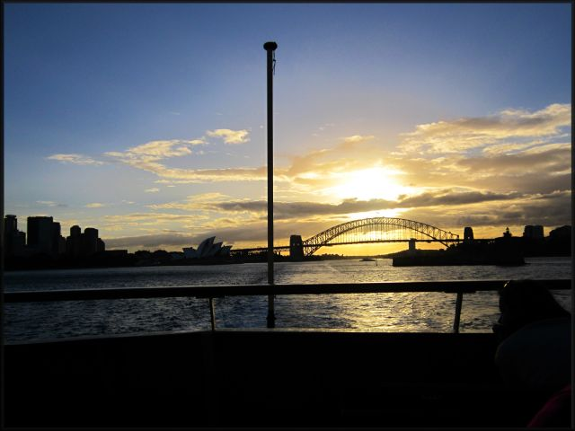 Zdjęcia: Sydney, Nowa Południowa Walia, Jeszcze jedno spojrzenie na most, AUSTRALIA