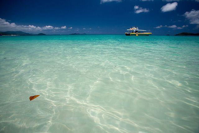 Zdjęcia: Whitehaven Beach, Queensland, nabielsza plaza swiata, AUSTRALIA
