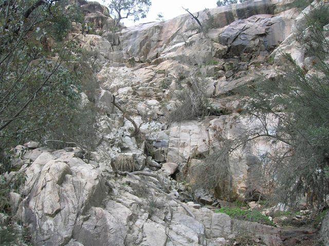 Zdjęcia: Australian Alps, Wasch. Australia, Wyschniety wodospad, AUSTRALIA
