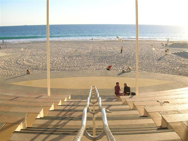 Zdjęcia: Perth, Zach.Australia, Glowne wejscie na Scarboro beach, AUSTRALIA