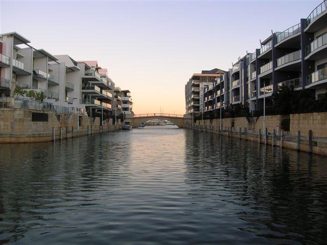Zdjęcia: Mandurah marina, Zach.Australia, Wenecki kanal--na podobienstwo Wenecji, AUSTRALIA