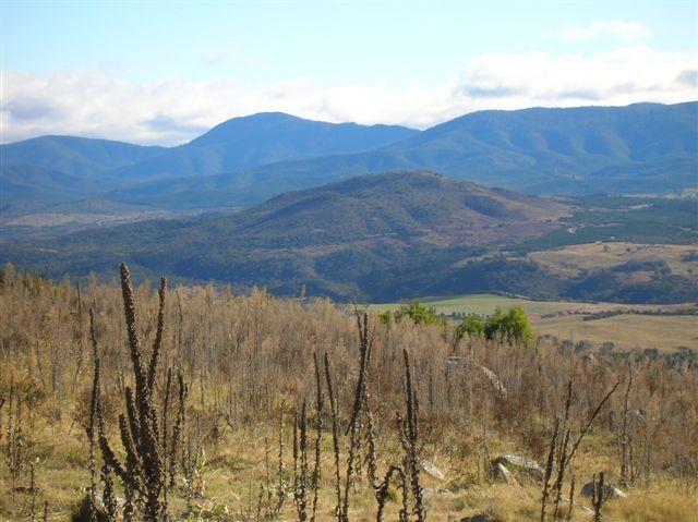 Zdjęcia: MT Stromlo, ACT, Widok na Bullen Ranges, AUSTRALIA
