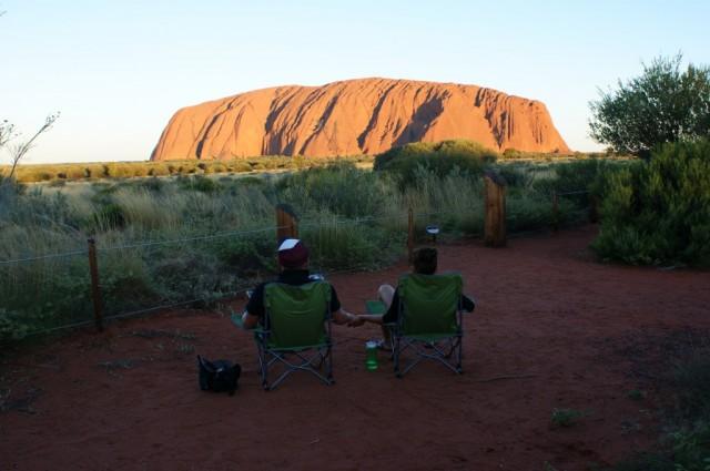 Zdjęcia: Uluru, Northern Territory, My i Uluru, AUSTRALIA