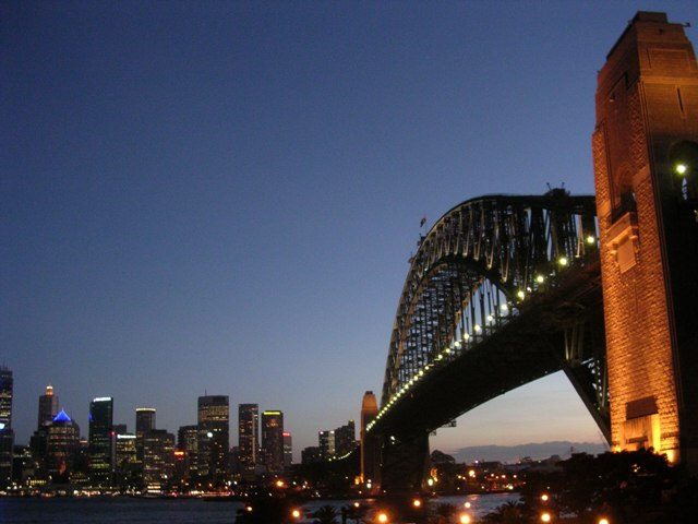 Zdj�cia: Sydney, NSW, Sydney Harbour Bridge, AUSTRALIA