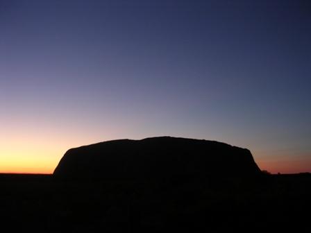 Zdjęcia: Ayers Rock, Norther Teritory, Ayers Rock rano, AUSTRALIA