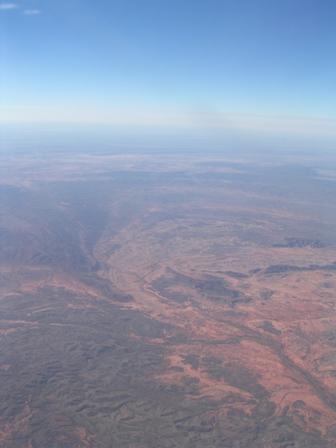 Zdjęcia: Gdzieś nad pustynią, Northern Teritory, Widok z samolotu, AUSTRALIA