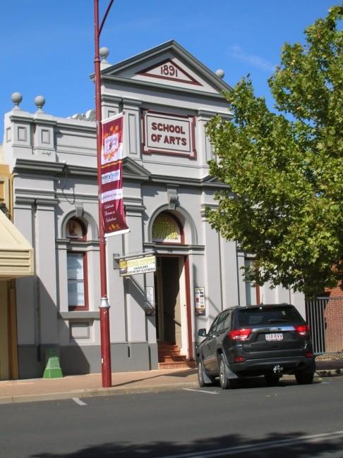 Tumut Australia  city photo : Zdjęcie:Zabytkowy budynek w Tumut , AUSTRALIA , NSW , Tumut