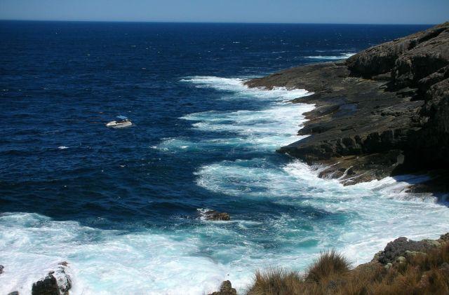 Zdjęcia: BASEN POLUDNIOWOAUSTRALIJSKI, KANGAROO ISLAND, malenki na wielkich wodach..., AUSTRALIA