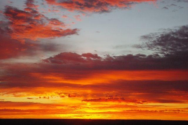 Zdjęcia: Coober Pedy, South Australia, Zachód słońca, AUSTRALIA