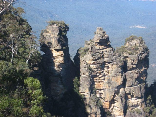 Zdjęcia: Park Narodowy Gór Błękitnych, Nowa Południowa Walia, Trzy siostry, AUSTRALIA