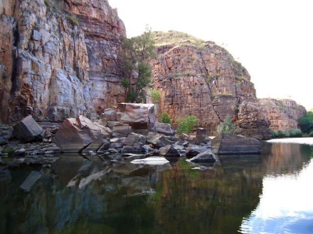 Zdjęcia: Katherine Gorge, Terytorium Północne, Z prądem Katherine River, AUSTRALIA