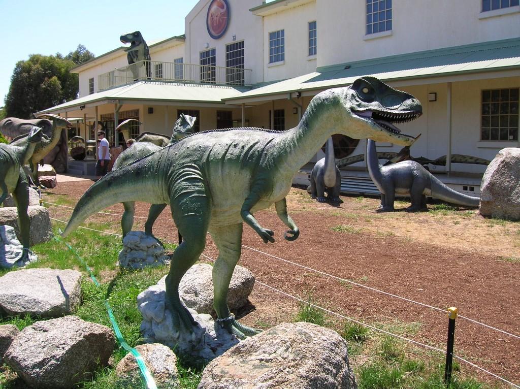 Zdjęcia: Canberra, ACT, Muzeum dinozaurow, AUSTRALIA