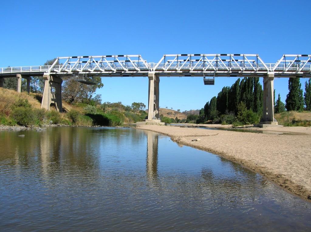 Zdjęcia: Tharwa, ACT, Najstarszy most w ACT, AUSTRALIA
