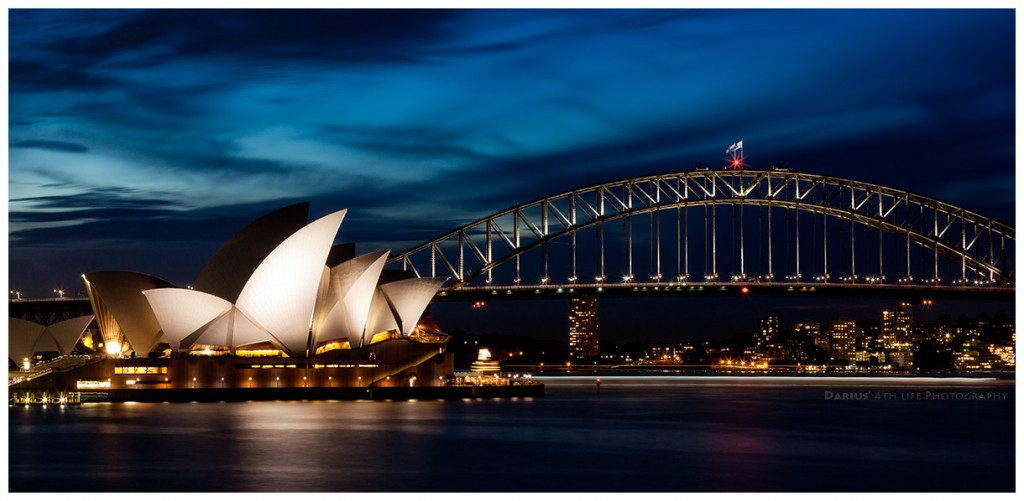 Zdjęcia: Sydney, Sydney, Harbor Bridge Skyline, AUSTRALIA
