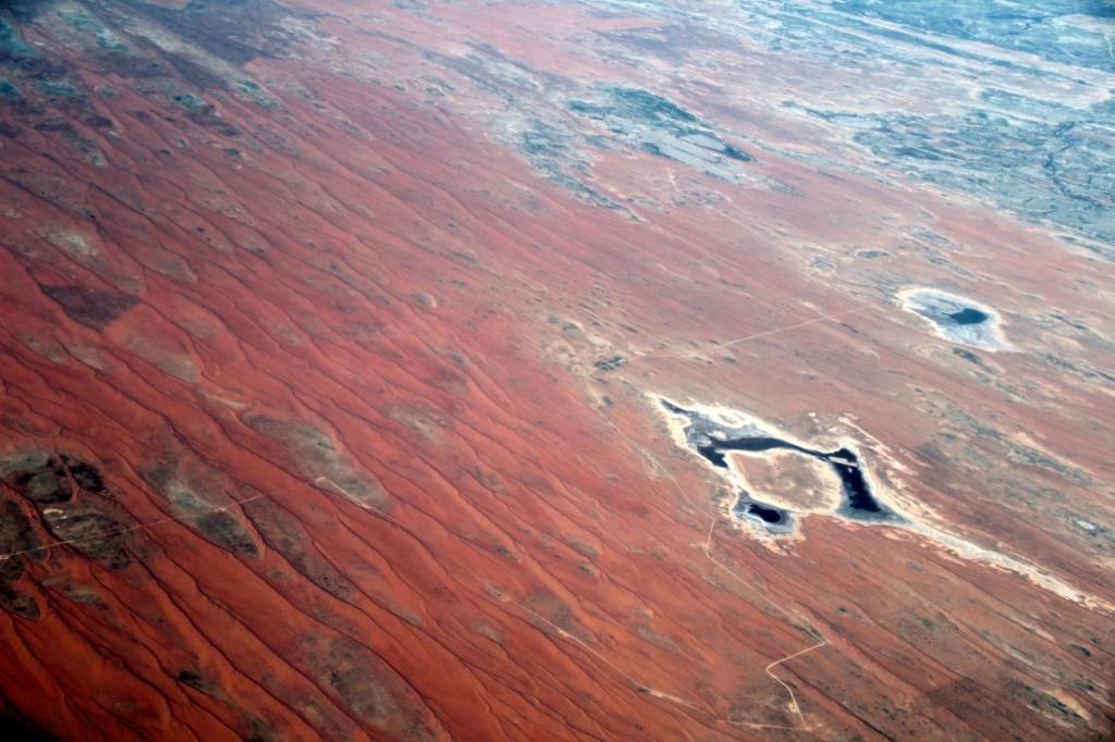 Zdjęcia: Gdzieś nad sercem kontynentu , Gdzieś nad sercem kontynentu , ... z lotu ptaka..., AUSTRALIA
