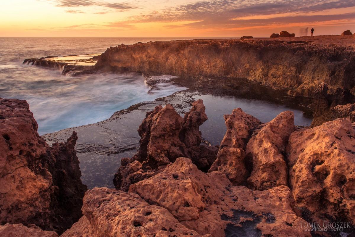Zdjęcia: Carnarvon, Australia Zachodnia, Quobba Blowholes, AUSTRALIA
