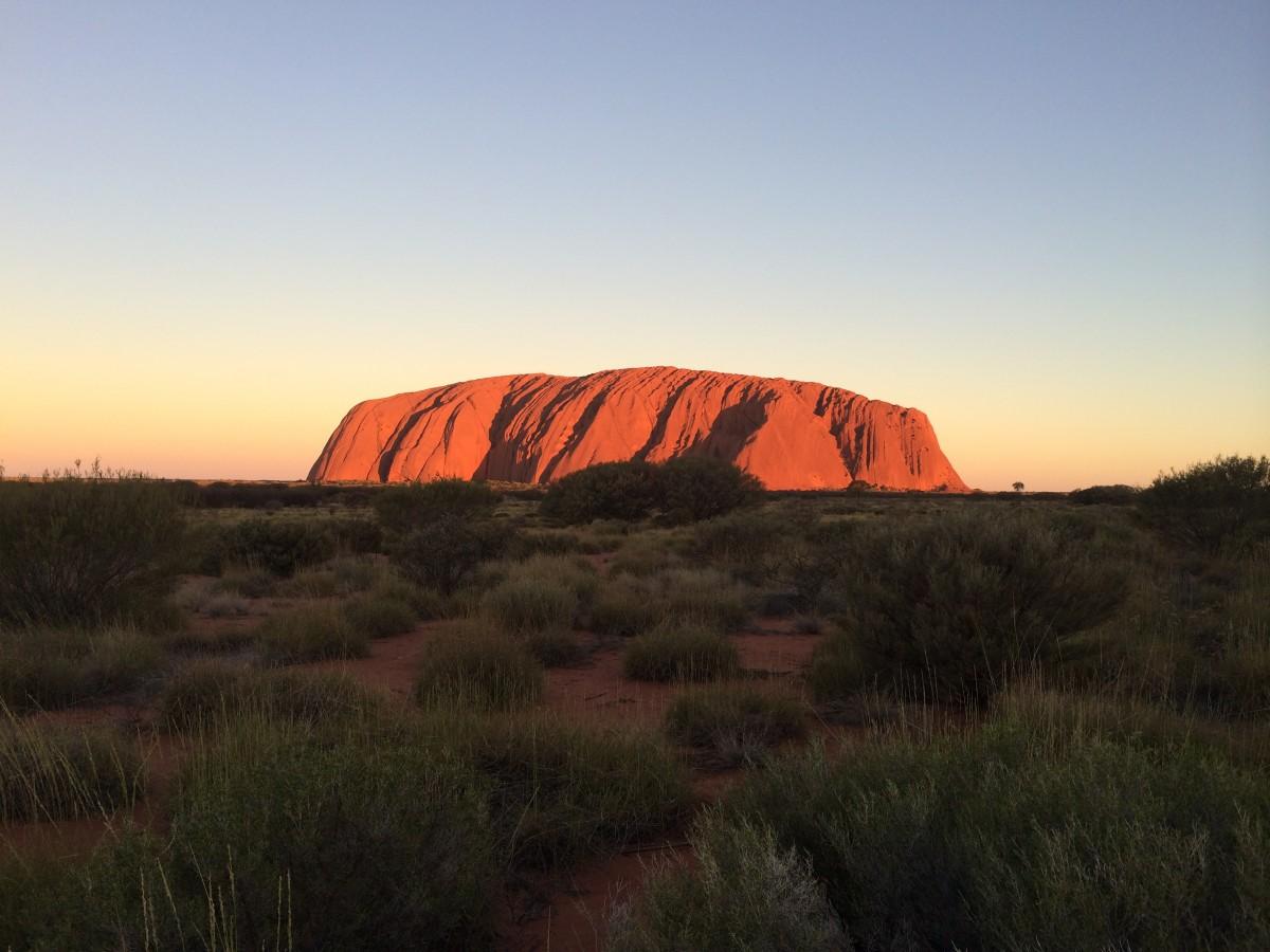 Zdjęcia: Uluru , Terytorium Północne, Mój outback, AUSTRALIA