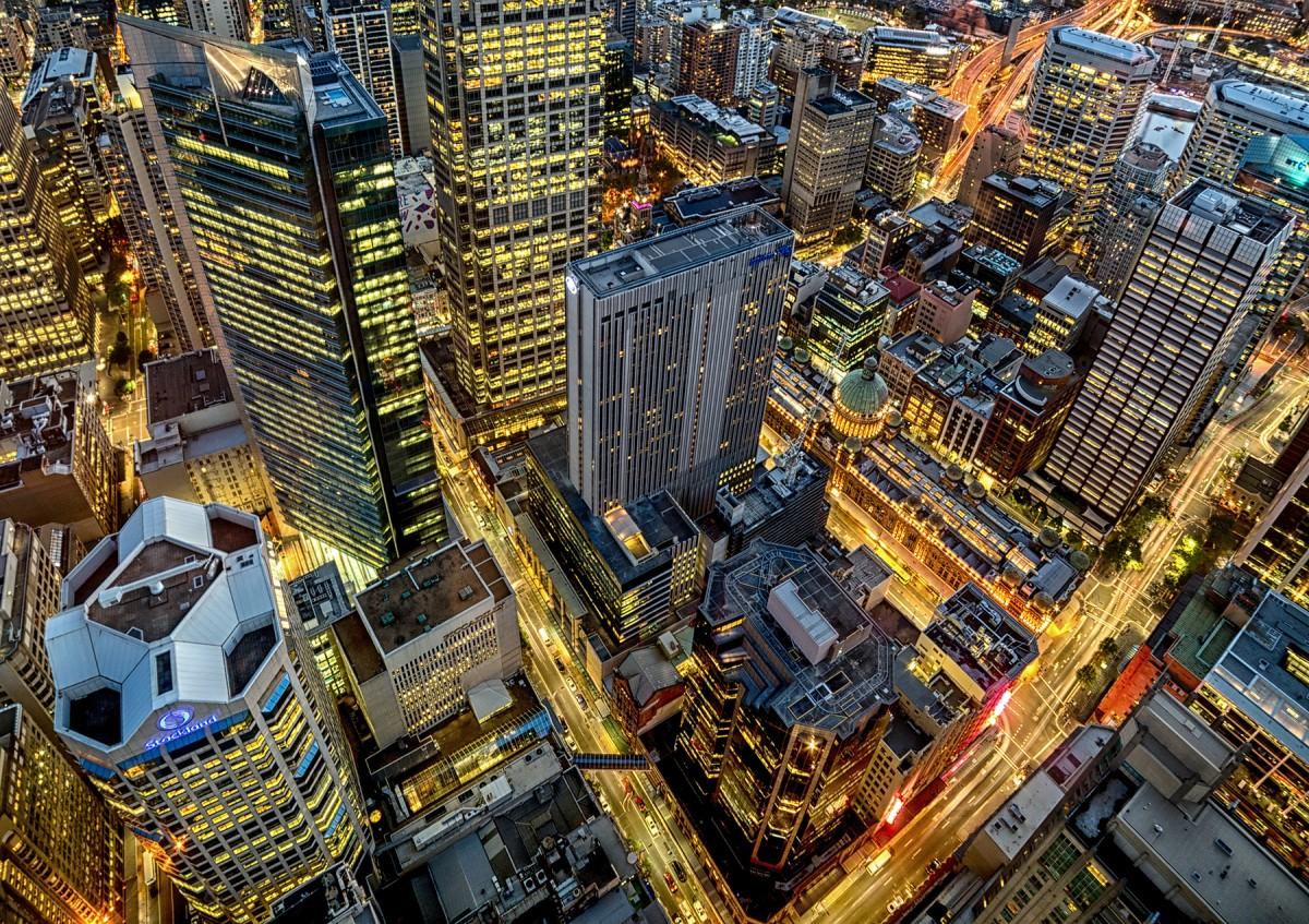Zdjęcia: Sydney, New South Wales, Swiatła wielkiego miasta, AUSTRALIA