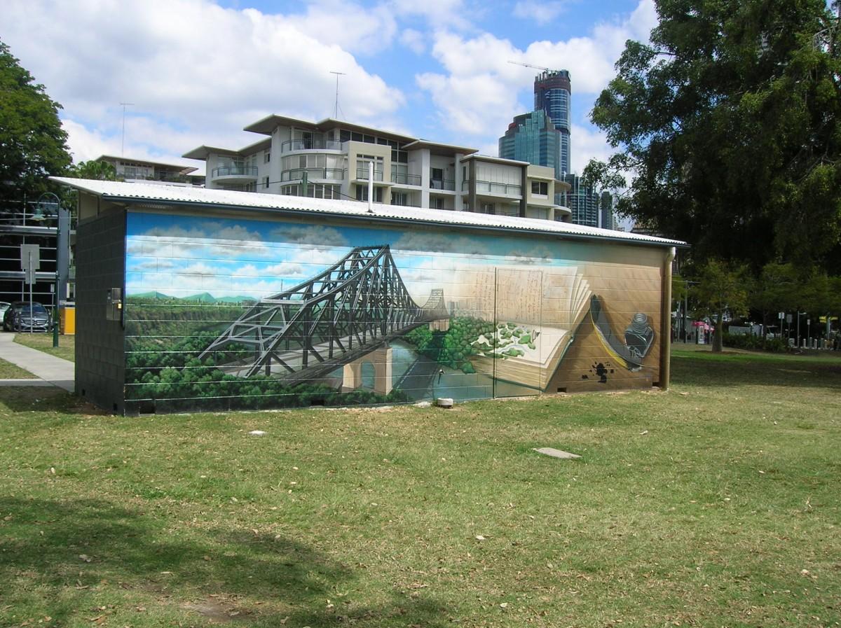 Zdjęcia: Kangooroo peninsula, Queensland, Old story bridge(murial), AUSTRALIA