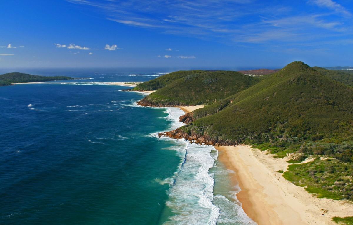 Zdjęcia: Shoal Bay, NSW, Moje miejsce, AUSTRALIA