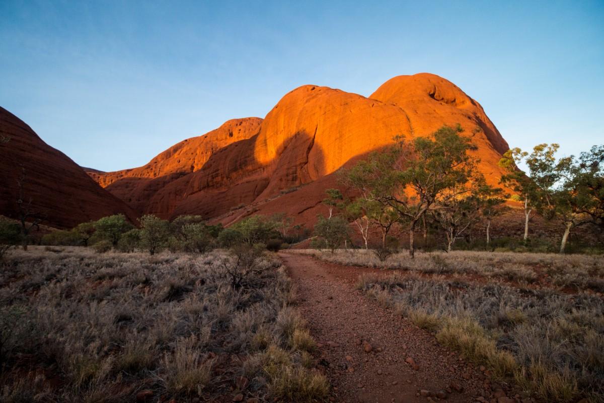 Zdjęcia: Uluru-Kata Tjuta National Park, The Olgas, AUSTRALIA