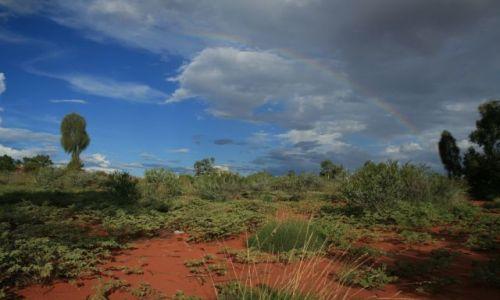 Zdjecie AUSTRALIA / - / Ayers Rock / cisza przed burzą